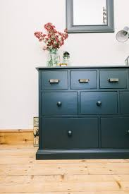 apothecary style furniture. Apothecary Style Chest Painted In Farrow And Ball Railings - Tips For Painting Furniture Using Eggshell H