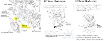 p2185 2008 honda accord engine coolant temperature sensor 2 need more help