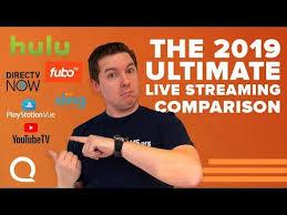 Ultimate Streaming Tv Comparison Youtube Tv Hulu Live