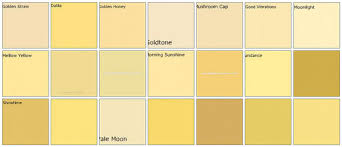 best yellow paint colorsYellow Shades Names Impressive Names Of Colors In English Shades