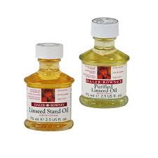 purified linseed oil and linseed stand oil