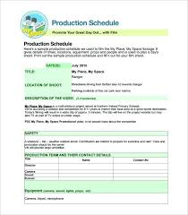 Film Production Calendar Template Production Schedule Excel Medium Size Of Spreadsheet Scheduling