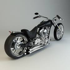 model custom chopper
