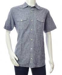 Details About Banana Republic Mens Mens Shirt Denim Jean Slim Jeans Linen Eu L