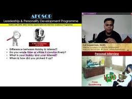 3 Ssb Interview Afosop Ciq Hobbies Interest