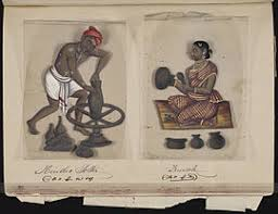 Image result for vanniyar tradesman old photo 1900