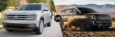 Vw Atlas Trim Comparison Chart 2019 2019 Volkswagen Atlas Vs 2020 Kia Telluride
