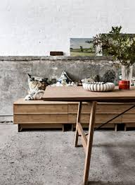 modern furnishings created with a pure unpretentious style realized in natural bamboo is the hallmark of the danish brand we do wood beautiful high modern furniture brands full