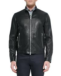 quick look theory basic leather jacket