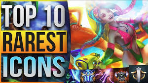 TOP 10 RAREST SUMMONER <b>ICONS</b> IN <b>LEAGUE OF LEGENDS</b> ...