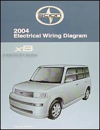 2004 scion xb wiring diagram manual original 2004scionxbewd jpg