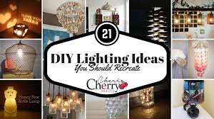 21 Diy Lighting Ideas You Should Recreate Cherrycherrybeauty