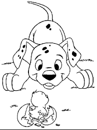 101 dalmatians pictures to print and color