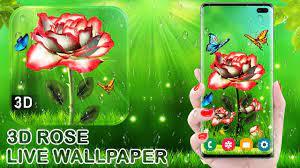 White Rose Live Wallpaper 3D 2019 APK ...