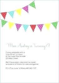 Kids Birthday Party Invitations Inspirational Free Printable