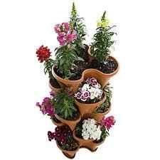 outdoor herb garden kit. Modren Kit 5 Tier Planter Stackable Vertical Selfwatering Herb Garden Kit Indoor  Outdoor  EBay And G