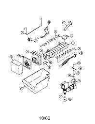 36 ge refrigerator ice maker parts diagram dzmm ge refrigerator ice maker parts diagram medium size