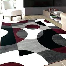 black area rugs rug white red and home adobe brown grey red white black rug