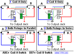 teisco et 200 e 200 wiring guitarnutz 2 in diagram 1 coil a is on but coil b has its negative terminal unconnected so coil b is hanging from the hot