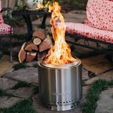 solo stove ranger 15 inch round wood burning fire pit stainless steel ssran bbqguys