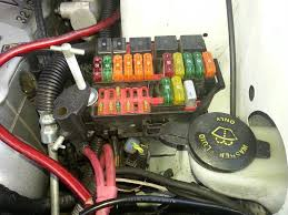 my fuse box is splitting disconnecting everything