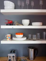 Kitchen Shelving Images Of Beautifully Organized Open Kitchen Shelving Diy