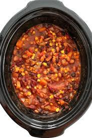 slow cooker vegetarian chili vegan