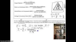 Design Efficiency Formula Furnace Input Calculation Given Output And Efficiency
