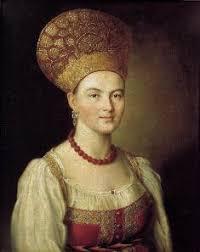 Русские художники века картины и имена портрет неизвестной в крестьянском костюме