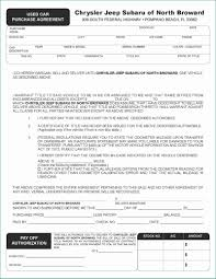 Purchase Agreement Vehicle Car Dealer Forms Amusing Used Car Purchase Agreement Ja Ag Qty 100