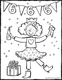 25 Ontwerp Gefeliciteerd Meisje 6 Jaar Kleurplaat Mandala