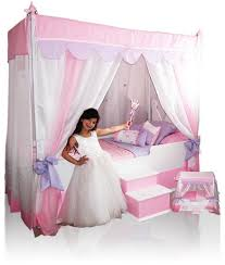 princess canopy bed diy - Princess Canopy Bed for Girls – FixCounter ...