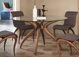 porada retro round dining table