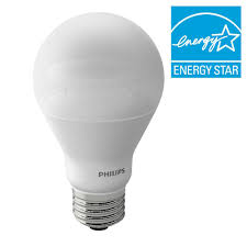philips 60w equivalent soft white a19 dimmable led with warm glow light effect household light bulb 461434 the home depot