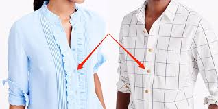 Why men's and <b>women's shirts button</b> up on different sides - Insider