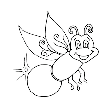 firefly coloring page beautiful firefly coloring page very lonely firefly coloring page