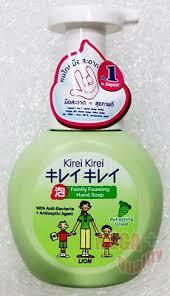<b>Lion Kirei</b> familia Espuma Jabón de Manos Anti Bacterias ...