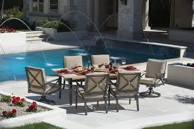 7 piece patio dining set. Laguna-005-dining 7 Piece Patio Dining Set A