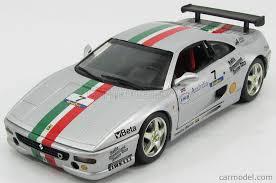 Ferrari racer #7 (2007) h. Mattel Hot Wheels 29752s Scale 1 18 Ferrari F355 Challenge N 7 1995 Silver