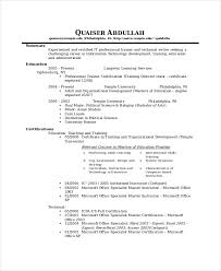IT Technical Resume Template