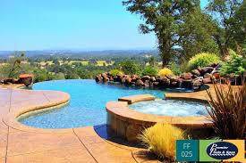 infinity pool design. Plain Design This Is A Great Example Of How Big Role Landscaping Plays In Your Pool  Design By Adding Native Plants Rock Features And Waterfall This Infinity  And Infinity Pool Design