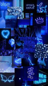 Black Light Neon Blue Aesthetic ...