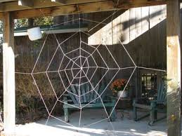 Spider web completed
