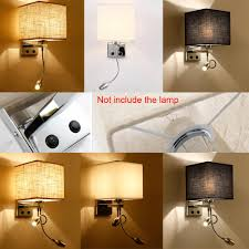 bedroom sconce lighting. Modern LED Cloth Wall Lamp Sconce Light Hallway Bedroom Bedside Light. \u003e Lighting H