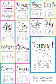 Template Monthly Calendar Mini Calendar Template Small 12 Month Calendar Print Out