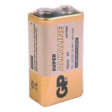 Батарейка <b>GP Super</b> эконом упак 9V/6LR61/Крона алкалин 1шт/уп