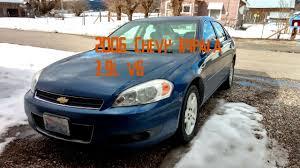 2006 Chevy Impala LTZ 0-60 and Engine Start - YouTube