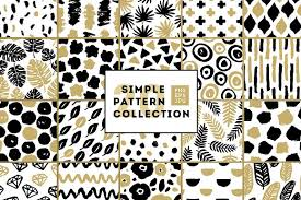Pattern Collection Best Simple Patterns Collection Graphic Patterns Creative Market