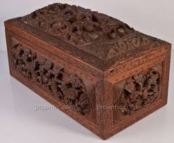 Large Wooden Boxes To Decorate Large Wooden Box Set Carved Dragon China Nineteenth decoration 41
