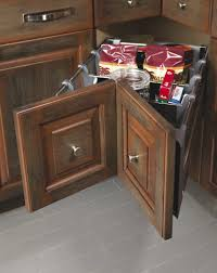 but consider the triple corner recycling center if you are looking for another option this is an interesting corner cabinet accessory which acts as a